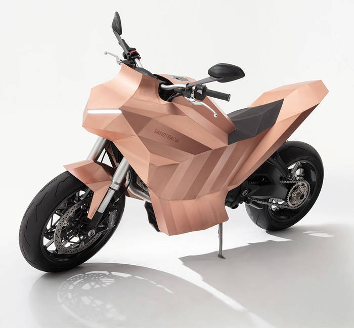 This Copper Bike is a Work of Art